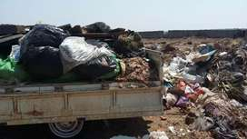 Junk and garden refuse removal with guys that load
