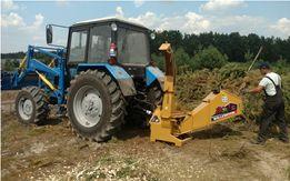 Щепорез Измельчитель веток на трактор Дробилка дерева на щепу (Канада)