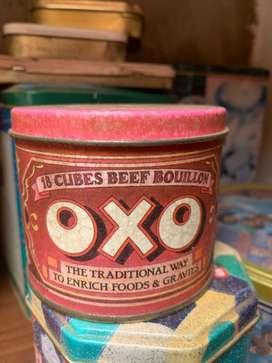Collectable antique tins
