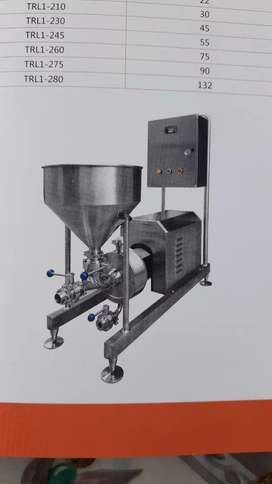 Manufacture of food and beverage equipment