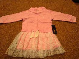 Шикарное платье на девочку Polo Assn