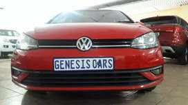 VW Golf 7 Tsi 1.6 COMFORTLINE manual red colour