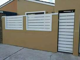 GALVANIZED STEEL NUTEC FENCING AND GATES