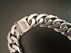 20mm 925 sterling silver men's chain - R8000 neg
