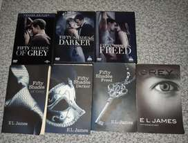 50 shades of grey books and dvds