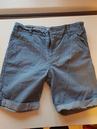 Spodenki krótkie jeans jasny niebieski