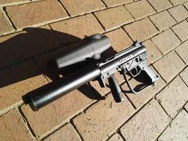 Tippmann A5 Flatline Silencer Paintball Self Defense Defence