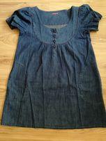 Letnia jeansowa sukienka