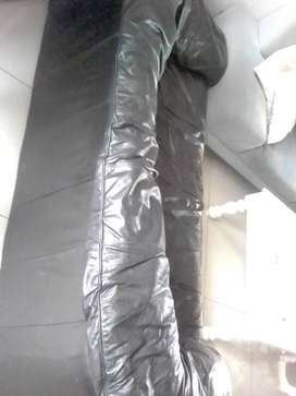 Genuine Leather Couches (1x Two Seater, 1x Three Seater)