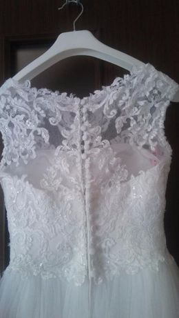 piękna biała suknia ślubna Elizabeth Passion Władysławowo - image 7