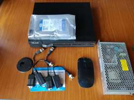 HiLook by Hikvision 1080p 4ch CCTV DVR + Extras