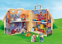 Playmobil портативный Домик с мебелью и фигурками