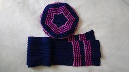Берет (шапка) уткпленный и шарф Raster р.50-52