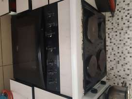 4 plate stove and oven