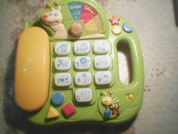 телефон музыкальный многофункциональный развивающий Веселый