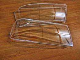 Прозрачные / полированные стекла на фары под линзы Audi 80 90 Ауди 80