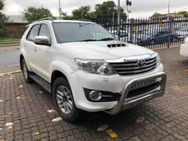 Toyota fortuner 3.0 D4D 4x4  Automatic