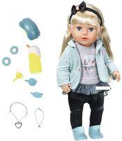 БЕСПЛ.ДОСТАВКА Кукла Zapf Baby Born Сестренка Модница 824245