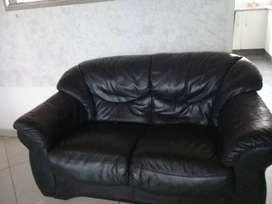 Milan Leather couch set