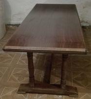 Ława drewniana ciemny brąz