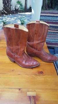 Mens hand made cowboy boots for sale  South Africa