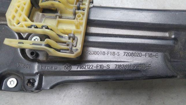 Mechanizm podnoszenia szyby prawy tył BMW F10 F11 Radzanów - image 3