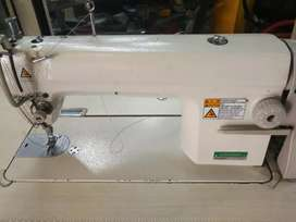 Industrial sewing machine.