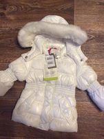Модная Деми куртка на девочку 1,5 года