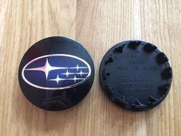 Новые центральные колпачки на диски Subaru (оригинальный комплект)