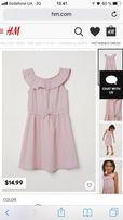 Платье H&M, 3-4 года