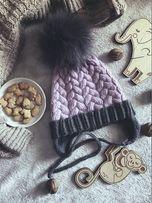 Zimowe czapki, szaliki, rękawiczki, kominy. 100% wełna. Handmade