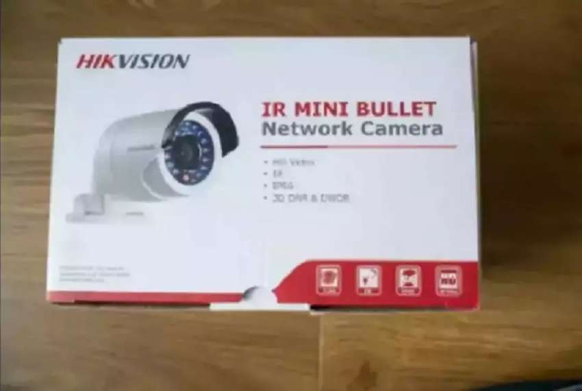 Hikvision 4MP IR PoE Network Security Bullet IP CCTV Camera 0