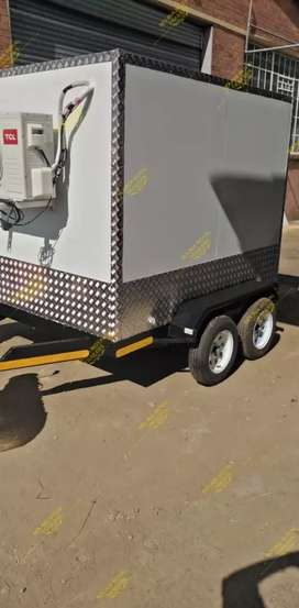 Mobile freezer trailer for sale