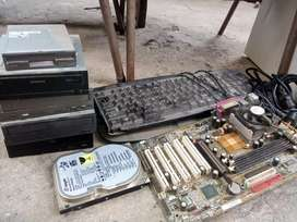 Old computer parts