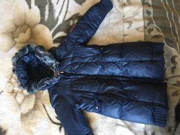 Пуховик пальто демисезонное брендовое Ermanno Scervino для девочки