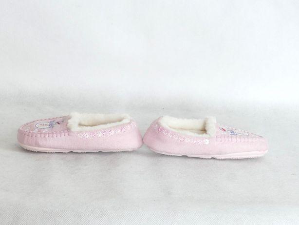 M&S NOWE kapcie dla dziewczynki kożuszek 23 14,5 cm Lubaczów - image 4