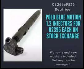 Polo blue motion Injectors for sale
