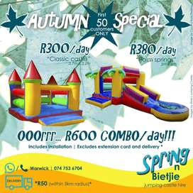 Jumping castle to rent