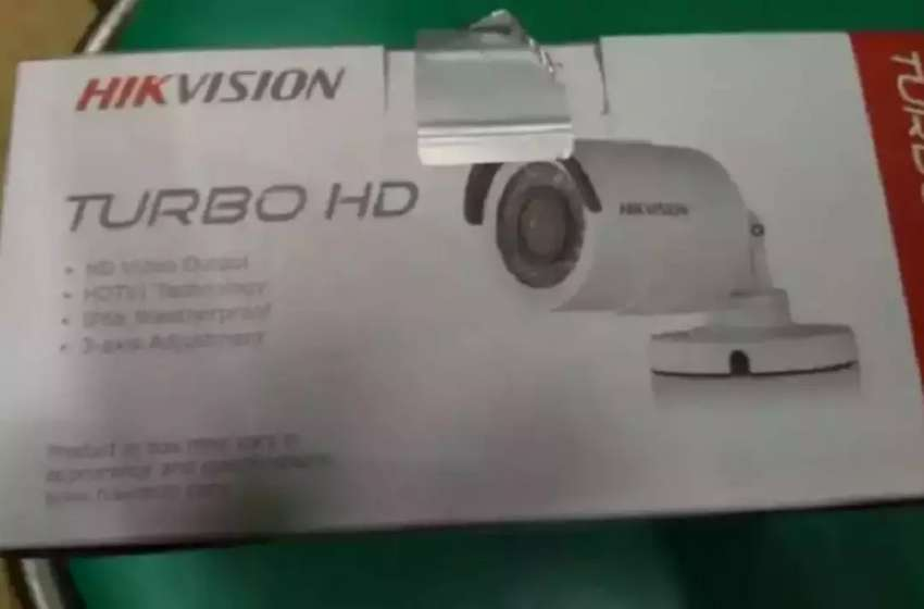 bullet outdoor camera 720p hik vision 0