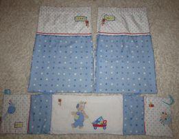 Комплект (бампер+шторы) в детскую Next