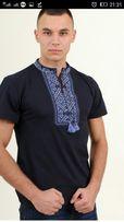 Продам вышитые мужские футболки