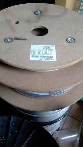 2 core MM drop fibre. +- 6mm Round, R3/m. Available in rolls of 50-80m