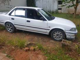 The car just needs shocks but its in a good condition