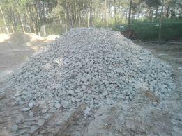 Gruz mielony ceglany, betonowy, mieszany, piasek, żwir, czarnoziem