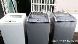 Uncollected washing machines