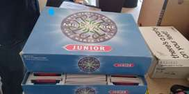 Who wants to be a millionaire junior boardgame