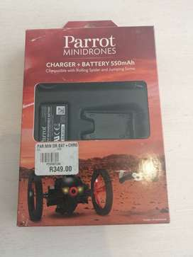 Parrot Minidrones Charger+Battery 550mAh (Rolling Spider/Jumping Sumo)