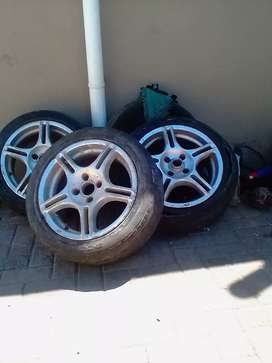 Mags 15 inch No Tyres