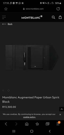 Mont Blanc Augmented Paper