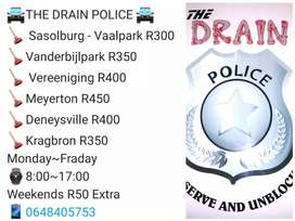 The drain police drain unblocking services
